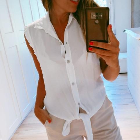 Blusa Nudo HESTER Blanco
