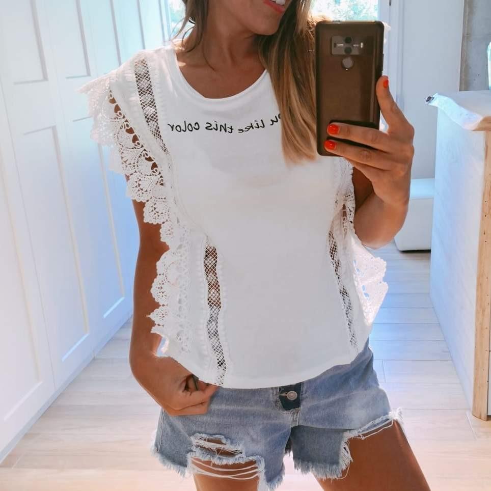 Camiseta IF YOU LIKE Blanco