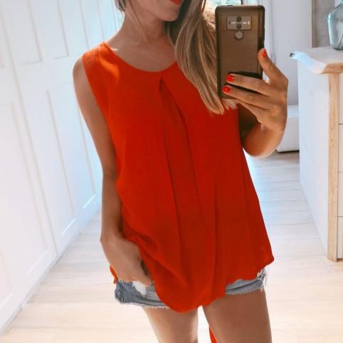 Blusa Lazo ARLET Rojo