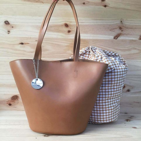 Bolso Shopper CARTAGENA Taupe