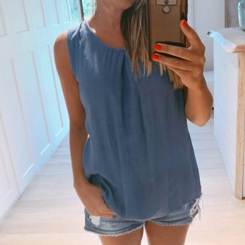 Blusa Lazo ARLET Azul Jean