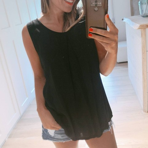Blusa Lazo ARLET Negro