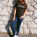Camiseta NO SOY PERFECTA Negro