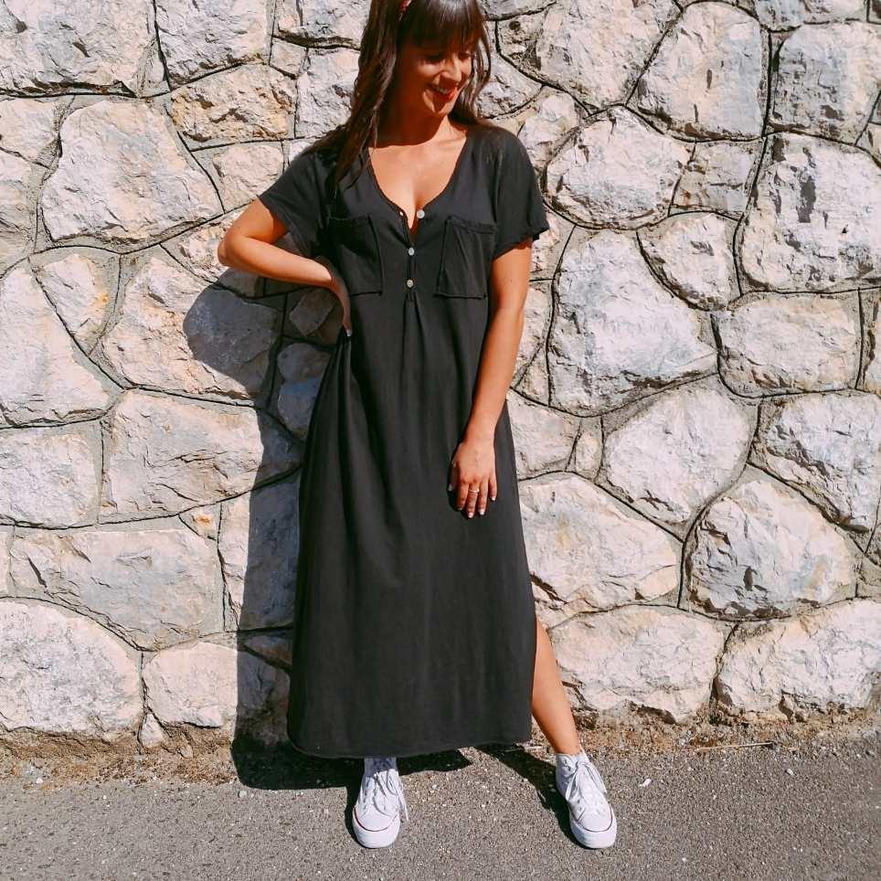 Vestido Largo CIRA Negro