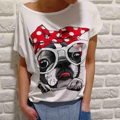 Camiseta Oversize BULLDOG BANDANA