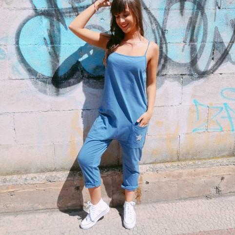 Mono Baggy Estrella Azul Jean