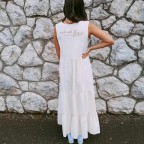 Vestido Ondas MADE WITH LOVE Beige