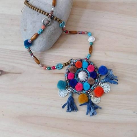 Collar Étnico MANDALA Multicolor