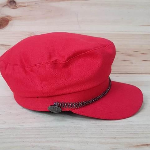 Gorra Marinera Cadena Rojo