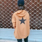 Sobrecamisa Capucha Estrella Camel