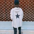 Sobrecamisa Capucha Estrella Taupe