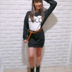 Vestido Sudadera COCO PARIS Negro