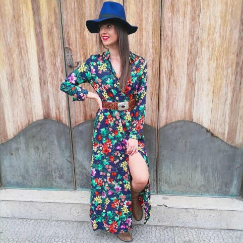 Vestido Camisero BETANIA Marino