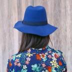 Sombrero Fedora Marino