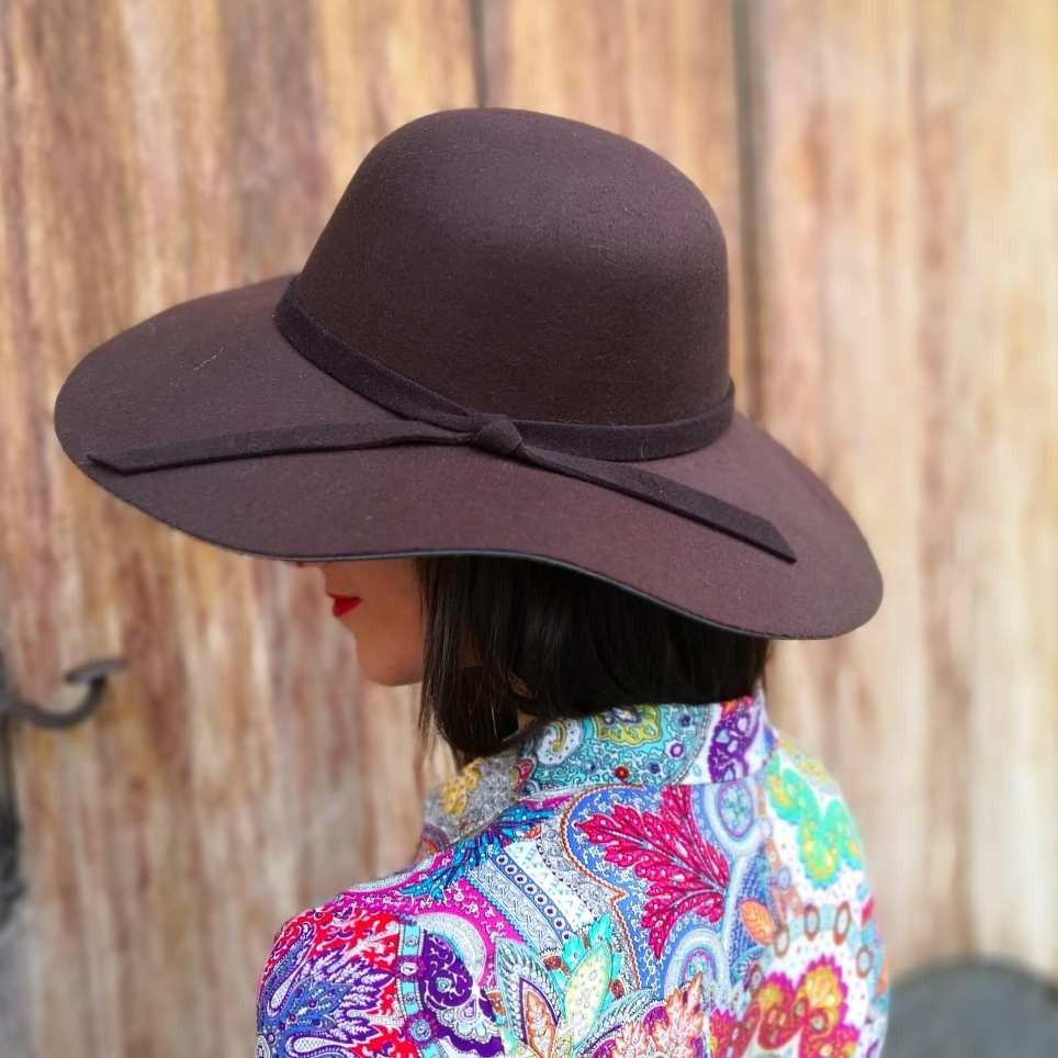 Sombrero Floppy Marrón