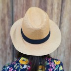 Sombrero Panama Natural