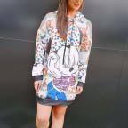 Vestido Sudadera MINNIE CÓMIC Multicolor