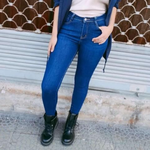 Pantalón Pitillo SPIRAL Azul