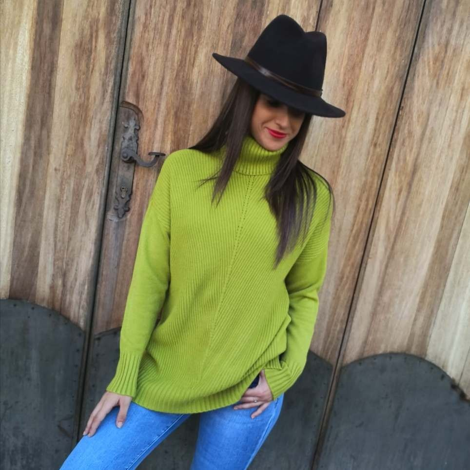 Jersey Punto TWINS Verde Pistacho