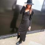 Vestido Canalé FRANCESCA Negro