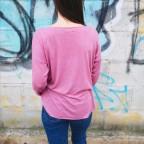 Suéter Calavera Glitter Rosa