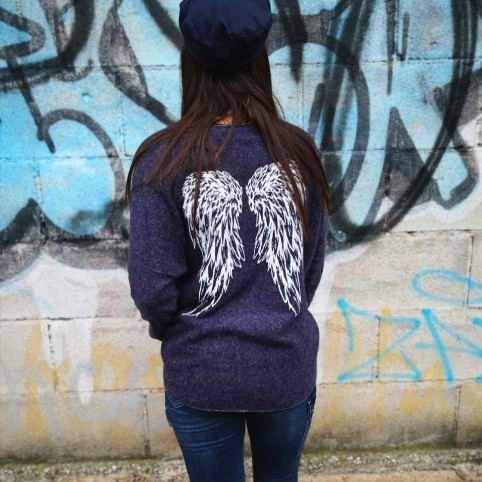 Punto Suave ANGEL Azulón