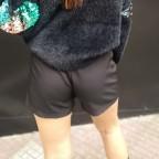 Falda Pantalón VELIA Negro