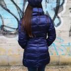 Abrigo Acolchado MARLENE Azul Eléctrico