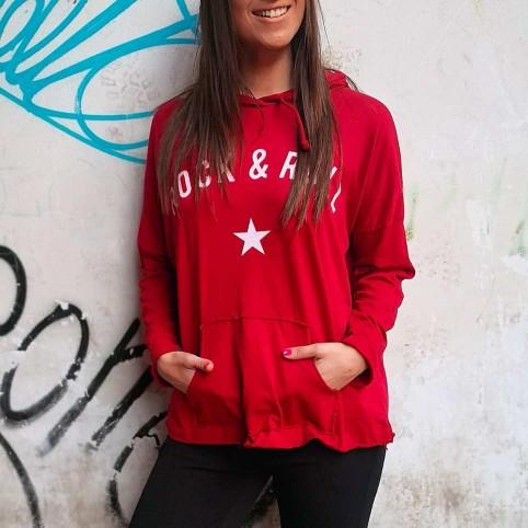 Camiseta Canguro ROCK STAR Burdeos