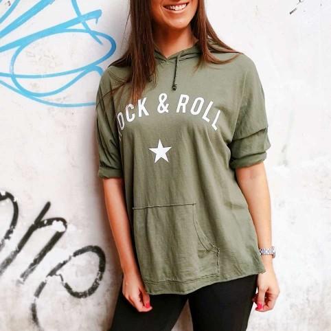 Camiseta Canguro ROCK STAR Khaki