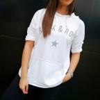 Camiseta Canguro ROCK STAR Blanco