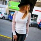 Suéter Combinado CIARA Blanco