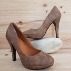 Zapato Salón Cadena Taupe