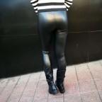 Legging Polipiel Negro