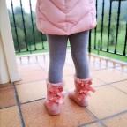 Bota Niña Australiana Rosa