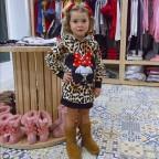 Vestido Niña Felpa MINNIE PRINT