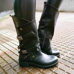 Bota Motera SHADOW Negro