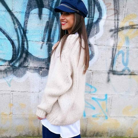 Jersey Oversize CANDY Beige