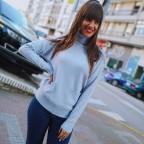 Jersey Bolsillos RITA Azul
