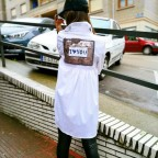 Camisa Asimétrica I LOVE YOU Blanco