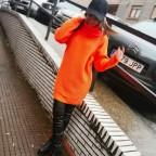 Jersey Extra Long LIMBER Naranja Flúor