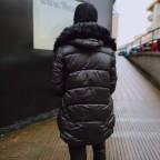 Abrigo Acolchado TATIANA Negro