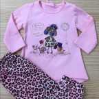 Conjunto Bebé MY BEST FRIEND Rosa