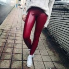 Legging Polipiel Burdeos