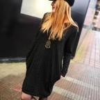 Vestido Topitos BEVERLY Negro