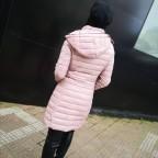 Abrigo Acolchado ABBY Rosa