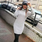 Jersey Extra Long ANNELIE Gris