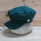 Gorra Marinera Paño Verde Jade