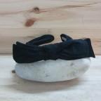 Diadema Terciopelo Lazo Negro