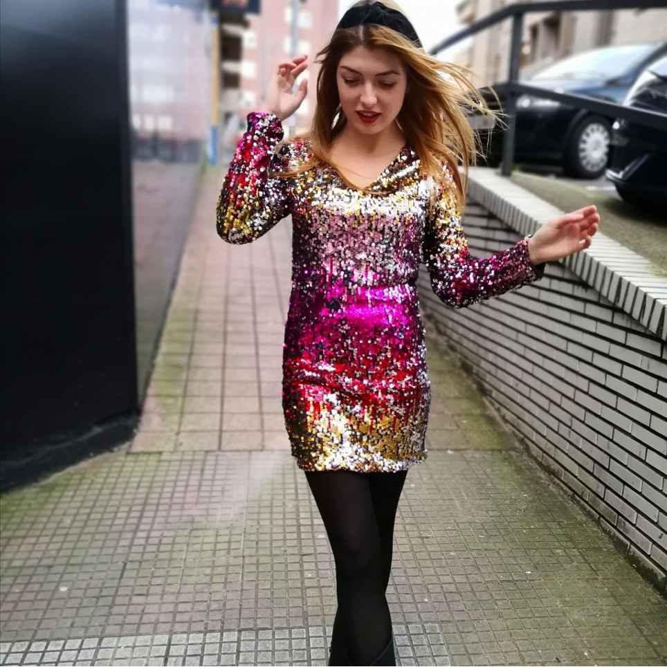 Vestido Lentejuelas PARADISE